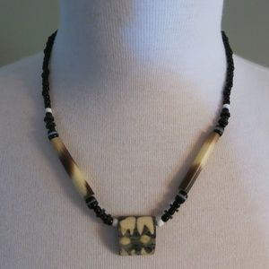 West African Handmade Necklace. 19""